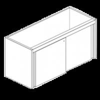 Модуль нейтральный с дверями-купе