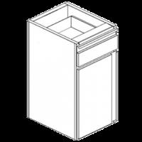 Модуль нейтральный для мусора
