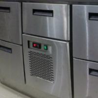 Охлаждаемый ящик над моноблоком