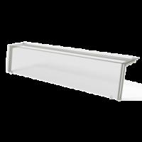 Полка 1 уровень с подсветкой наклонное стекло