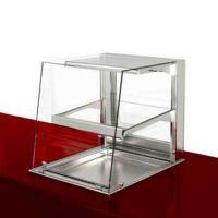 Тепловая витрина Drop-in с наклонным стеклом