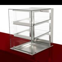 Тепловая витрина Drop-in с прямым стеклом